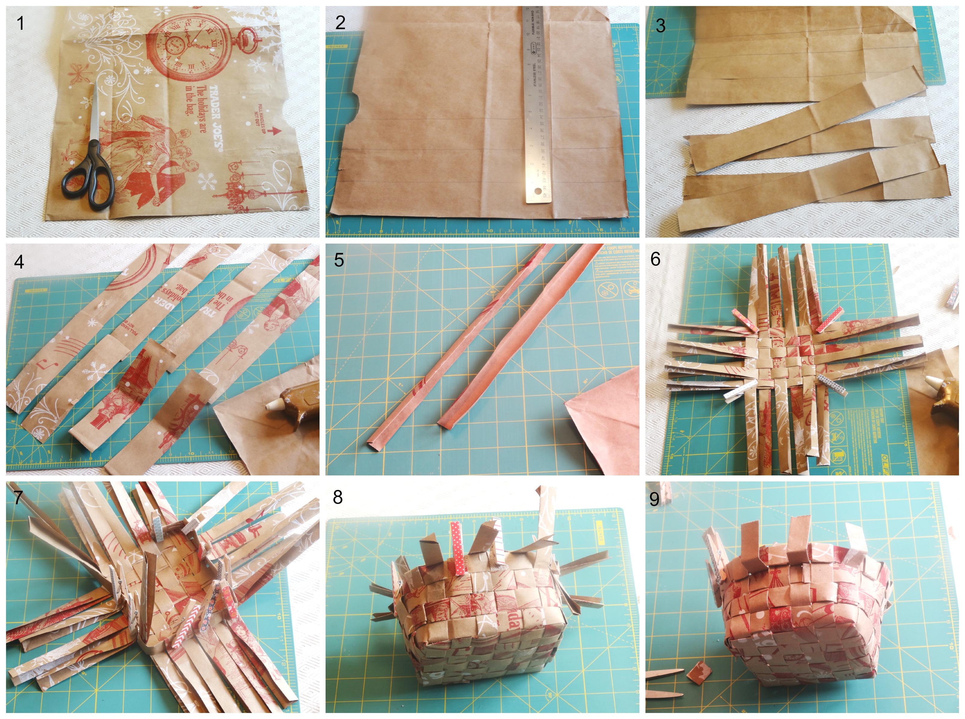DIY Basket Collage