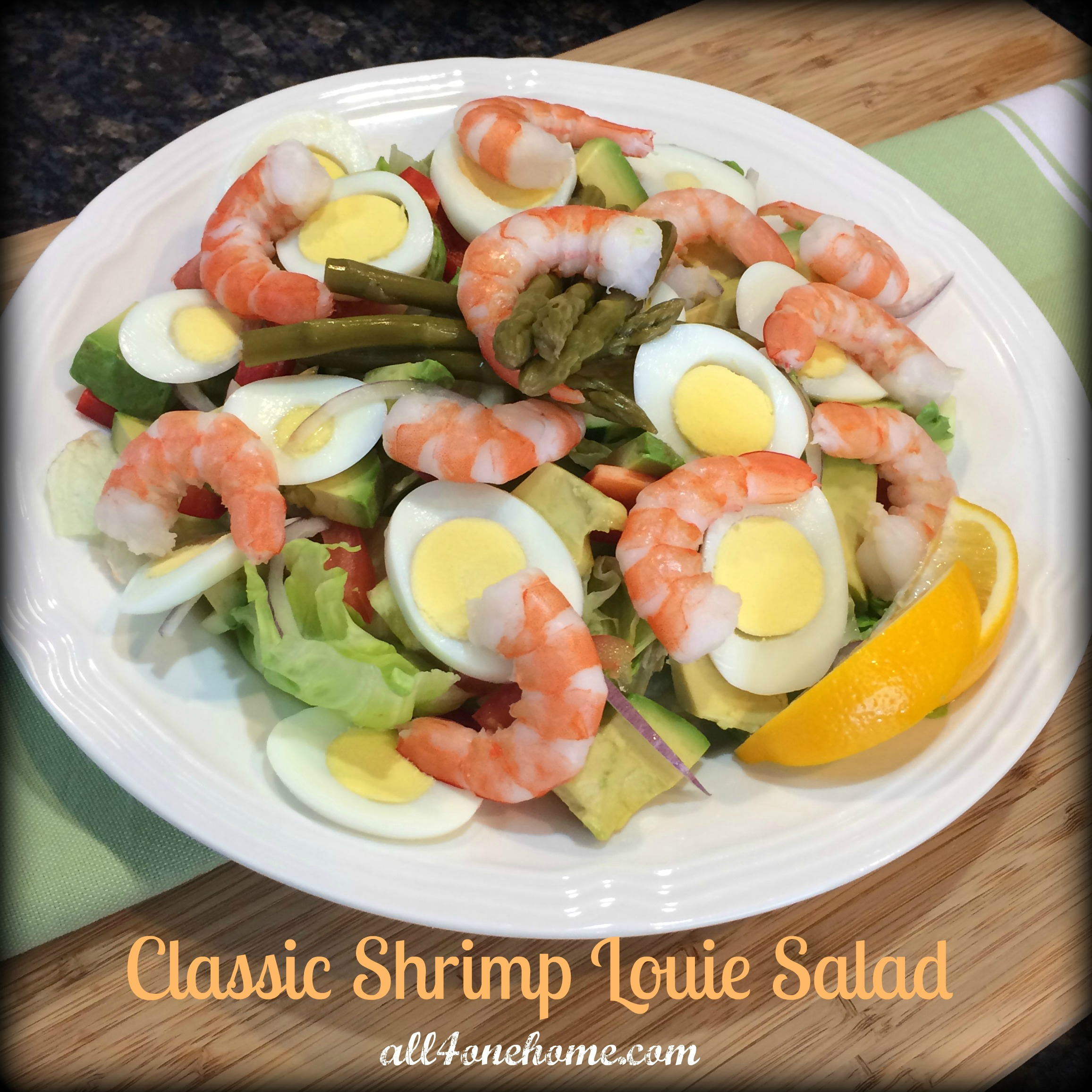 Classic Shrimp Louie Salad